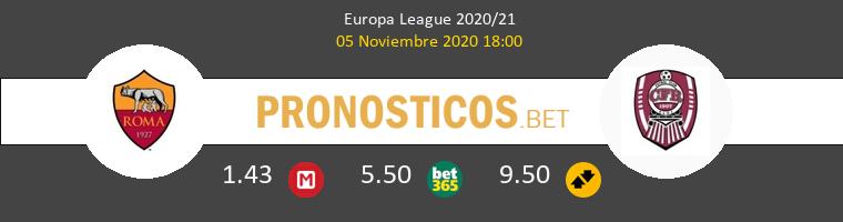 Roma vs CFR Cluj Pronostico (5 Nov 2020) 1