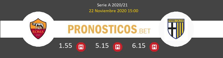 Roma vs Parma Pronostico (22 Nov 2020) 1
