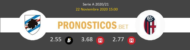 Sampdoria vs Bologna Pronostico (22 Nov 2020) 1