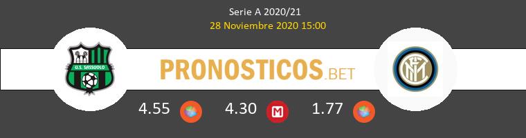 Sassuolo vs Inter Pronostico (28 Nov 2020) 1