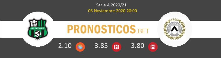 Sassuolo vs Udinese Pronostico (6 Nov 2020) 1