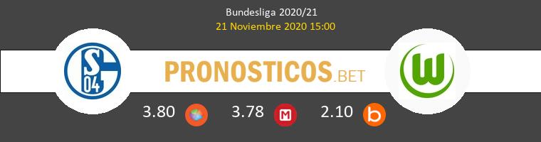 Schalke 04 vs Wolfsburgo Pronostico (21 Nov 2020) 1