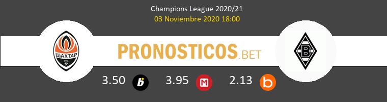 Shakhtar Donetsk vs B. Mönchengladbach Pronostico (3 Nov 2020) 1