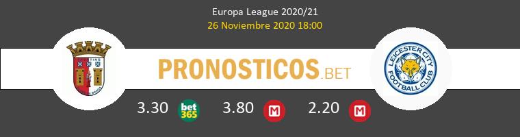 Sporting Braga vs Leicester Pronostico (26 Nov 2020) 1