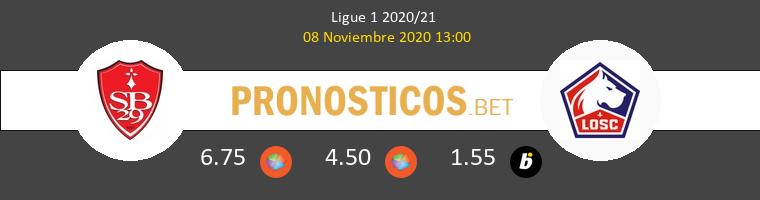 Stade Brestois vs Lille Pronostico (8 Nov 2020) 1