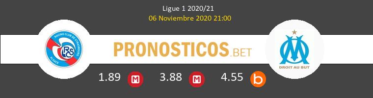 Estrasburgo vs Olympique Marsella Pronostico (6 Nov 2020) 1