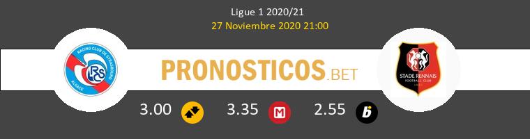 Estrasburgo vs Stade Rennais Pronostico (27 Nov 2020) 1