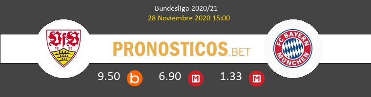 Stuttgart vs Bayern Munchen Pronostico (28 Nov 2020) 1