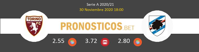 Torino vs Sampdoria Pronostico (30 Nov 2020) 1