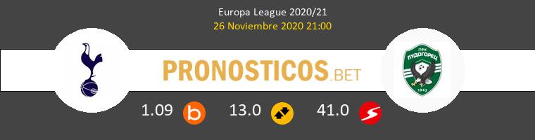 Tottenham Hotspur vs Ludogorets Pronostico (26 Nov 2020) 1