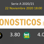 Udinese vs Génova Pronostico (22 Nov 2020) 3