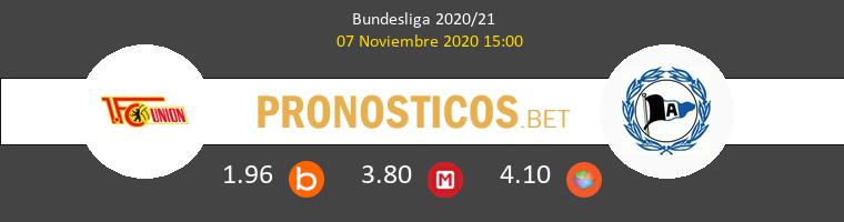 Union Berlin vs Arminia Bielefeld Pronostico (7 Nov 2020) 1