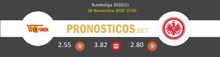 Union Berlin vs Eintracht Frankfurt Pronostico (28 Nov 2020) 1