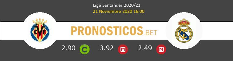 Villarreal vs Real Madrid Pronostico (21 Nov 2020) 1