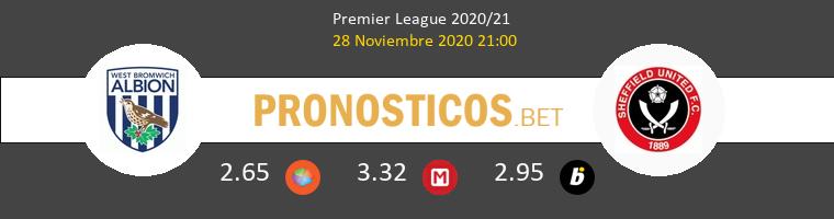 West Bromwich Albion vs Sheffield United Pronostico (28 Nov 2020) 1