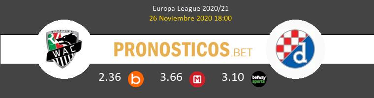 Wolfsberger AC vs Dinamo Zagreb Pronostico (26 Nov 2020) 1