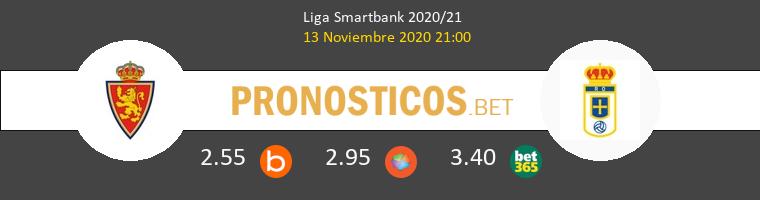 Zaragoza vs Real Oviedo Pronostico (13 Nov 2020) 1