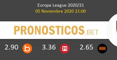 Zorya Luhansk vs AEK Athens Pronostico (5 Nov 2020) 5