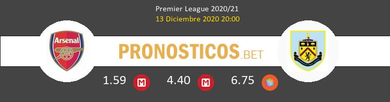 Arsenal vs Burnley Pronostico (13 Dic 2020) 1