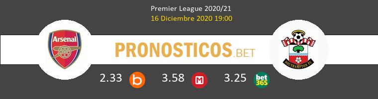 Arsenal vs Southampton Pronostico (16 Dic 2020) 1