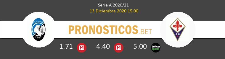 Atalanta vs Fiorentina Pronostico (13 Dic 2020) 1