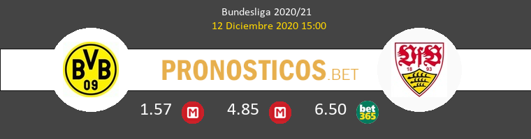 Borussia vs Stuttgart Pronostico (12 Dic 2020) 1