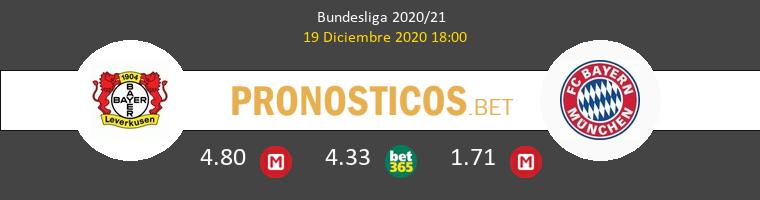 Leverkusen vs Bayern Munich Pronostico (19 Dic 2020) 1
