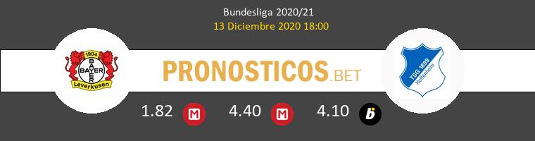 Bayer Leverkusen vs Hoffenheim Pronostico (13 Dic 2020) 1
