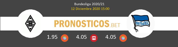 B. Mönchengladbach vs Hertha BSC Pronostico (12 Dic 2020) 1
