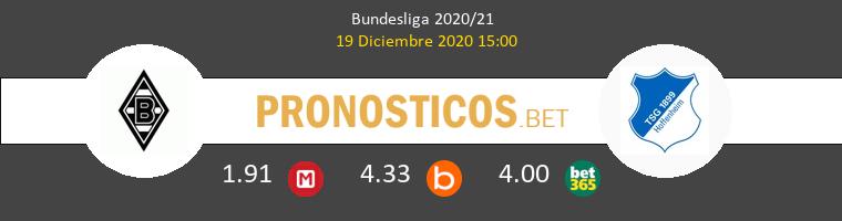 B. Mönchengladbach vs Hoffenheim Pronostico (19 Dic 2020) 1