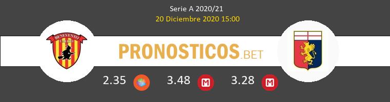 Benevento vs Génova Pronostico (20 Dic 2020) 1