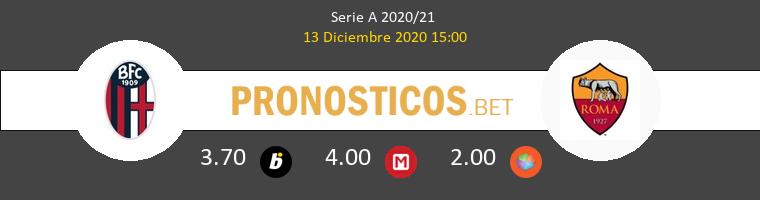 Bologna vs Roma Pronostico (13 Dic 2020) 1