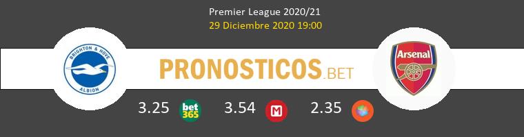 Brighton Hove Albion vs Arsenal Pronostico (29 Dic 2020) 1