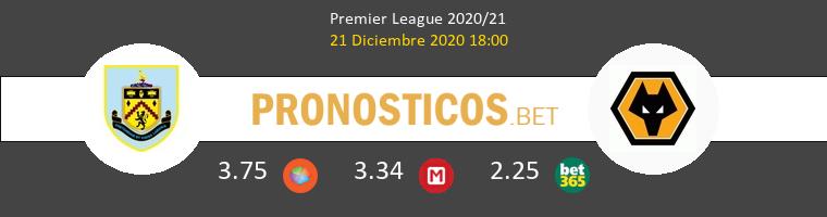 Burnley vs Wolves Pronostico (21 Dic 2020) 1