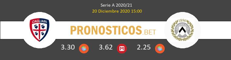 Cagliari vs Udinese Pronostico (20 Dic 2020) 1
