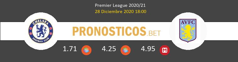 Chelsea vs Aston Villa Pronostico (28 Dic 2020) 1