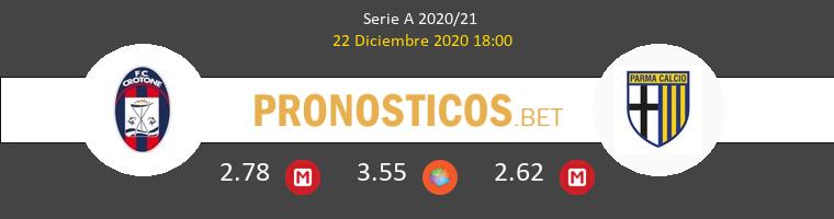 Crotone vs Parma Pronostico (22 Dic 2020) 1