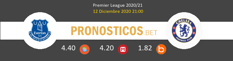 Everton vs Chelsea Pronostico (12 Dic 2020) 1
