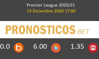 Fulham vs Liverpool Pronostico (13 Dic 2020) 1