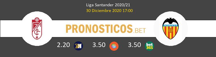 Granada vs Valencia Pronostico (30 Dic 2020) 1