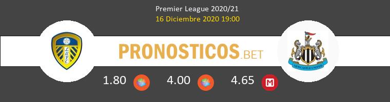 Leeds United vs Newcastle Pronostico (16 Dic 2020) 1