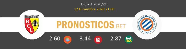 Lens vs Montpellier Pronostico (12 Dic 2020) 1