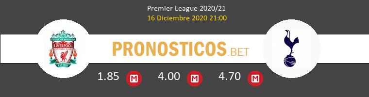 Liverpool vs Tottenham Hotspur Pronostico (16 Dic 2020) 1