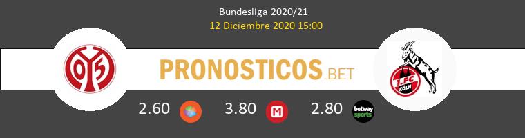 Mainz 05 vs Koln Pronostico (12 Dic 2020) 1