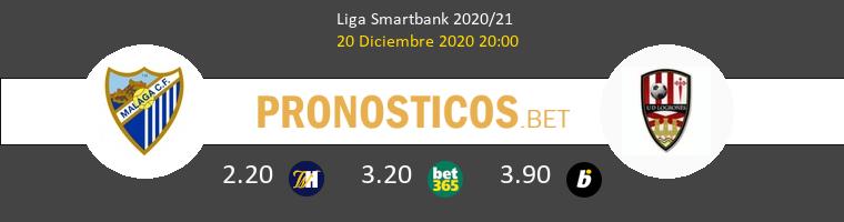 Málaga vs UD Logroñés Pronostico (20 Dic 2020) 1
