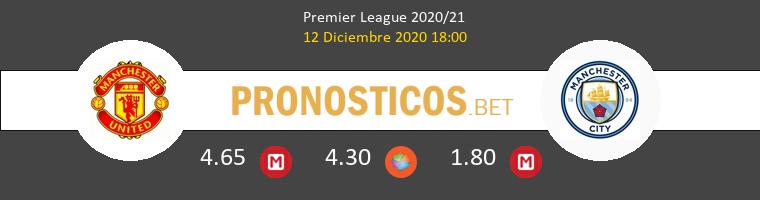 Manchester United vs Manchester City Pronostico (12 Dic 2020) 1
