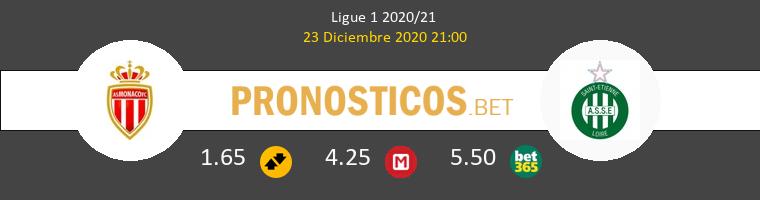 Monaco vs SaintvÉtienne Pronostico (23 Dic 2020) 1
