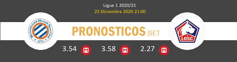 Montpellier vs Lille Pronostico (23 Dic 2020) 1