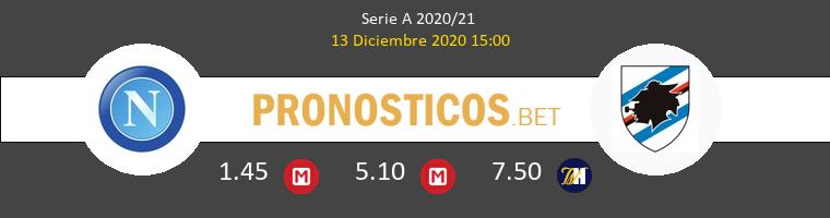 Napoles vs Sampdoria Pronostico (13 Dic 2020) 1