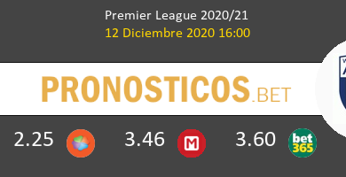 Newcastle vs West Bromwich Albion Pronostico (12 Dic 2020) 6